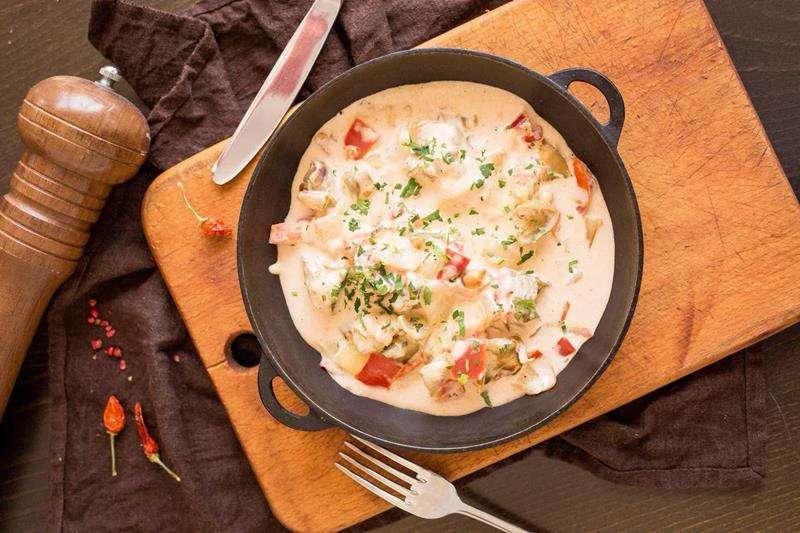 Закажите доставку из ресторана Рапаны с Овощами | Таверна Онейро
