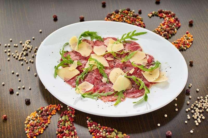 Закажите доставку из ресторана Карпаччо из Телятины | Таверна Онейро